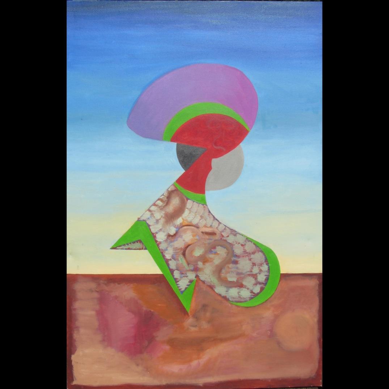 The Moody Woman by Zalman Berkowitz